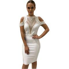 Olivia White Bandage Dress