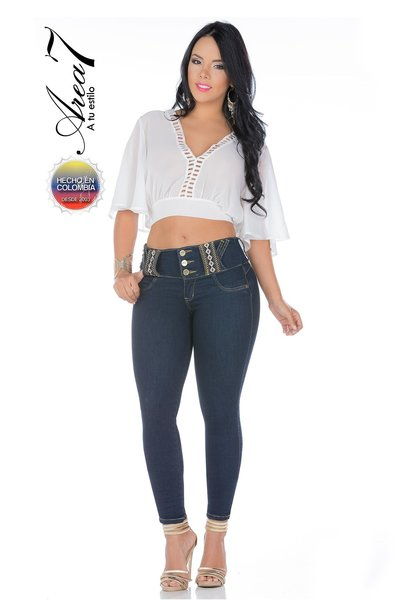AREA 7 Authentic Colombian Push Up Jeans - 4612 | GreenSnooker
