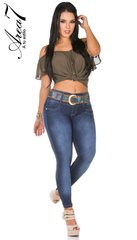 Authentic Colombian Push Up Jeans   GreenSnooker