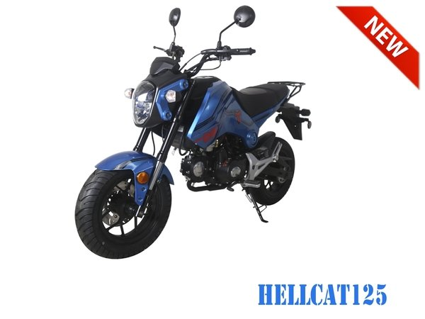Hellcat 125 Mini Bike Affordable Atv Side By Sides Scooters