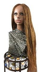 Hand Braided Micro Twist Wig Color 27, 32 Inches