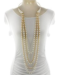 Oversize Long Pearls