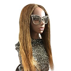 Women's Handmade Micro Twist Lace Front Wig Color 27, 22 Inches