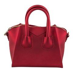 Red Jelly Convertible Mini Handbag