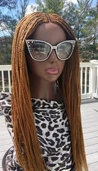 Handmade Cornrow Box Braided Wig Color 27, 26 Inches