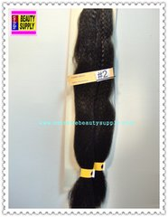 100 % kanekalon braid hair color # 2 darkest brown dreadlock dread lock kanekalon synthetic braid hair dreadlock dread lock doll reroot paty COSTUME crown stage play color extension 38 inch long (when unfold it ) 2 oz w.t