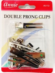 ANNIE 10 PCS DOUBLE PRONG hair CLIPS for hair roller