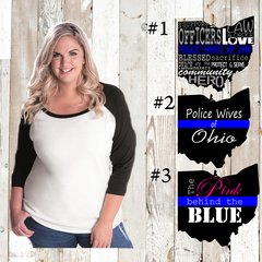 PWOO Curvy Collection Raglan