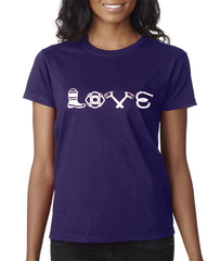Love Equipment - Fire Women's Tee