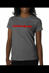 Nothing Stronger Red Line Women's Tee