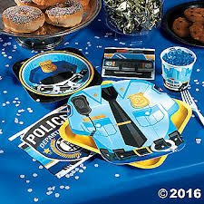 Police Officer Deluxe Party Package