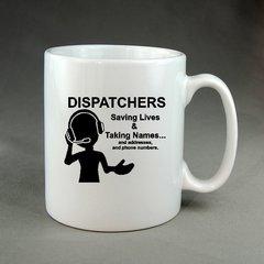 Dispatchers Saving Lives Coffee Mug