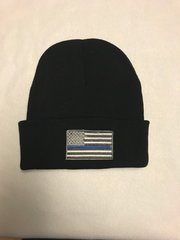 Thin Line Flag Embroidered Hat