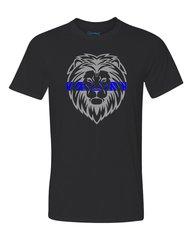 Blue Line Lion - Performance Shirt