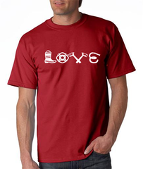Love Equipment - Fire Unisex tee