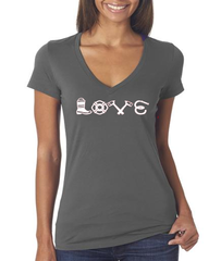 Love Equipment - Fire V-Neck