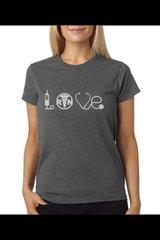 Love Equipment - Nurse Women's Tee