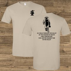 Walk Through the Valley Bomb Squad Tee