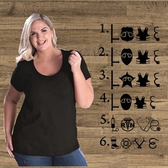 Love Equipment - Curvy Collection Tee