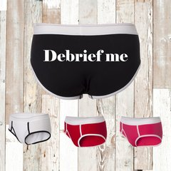 Debrief Me Ladies Briefs