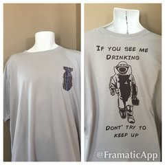 If you see me drinking - Tee