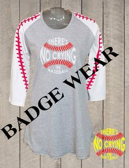 There is no crying Raglan