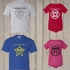 My Hero Police Deputy Fire Paramedic