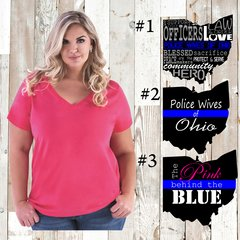 PWOO Curvy Collection V-Neck
