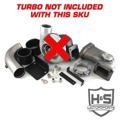 2008-2010 Ford 6.4L H&S Motorsports Single Turbo Kit W/O Turbo