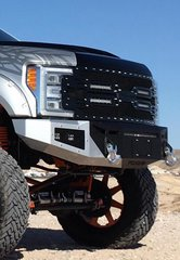 Fusion Bumpers Ford Super Duty Front 2017+