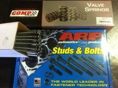 Studs, Springs and Pushrods package