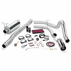 Banks 7.3 Six-Gun Bundle, Power System with Single Exit Exhaust, Chrome or Black Tip 2000-2003 Excursion