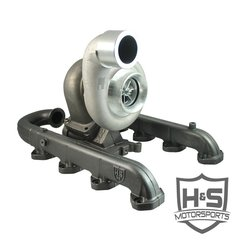 H&S Motorsports 2011-2015 Ford Power Stroke 6.7L Single Turbo Kit