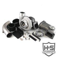 2008-2010 Ford 6.4L H&S Motorsports Single Turbo Kit