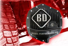 BD Diesel Differential Cover, Rear - Sterling 12-10.25/10.5 - Ford 1989-2016 Single Wheel