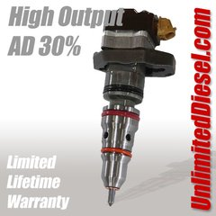 Powerstroke Fuel Injectors - High Output AD/30% by Unlimited Diesel