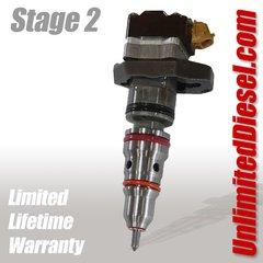 Powerstroke Fuel Injectors - Stage 2 by Unlimited Diesel