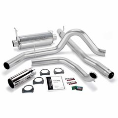 Banks 7.3 Git-Kit Bundle, Power System with Single Exit Exhaust, Chrome or Black Tip for 2000-2003 Ford 7.3L Excursion