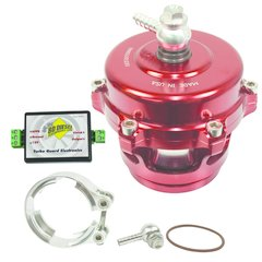 BD Diesel Turbo Guard Kit - Steel Adapter / Red Valve