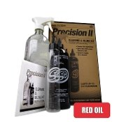 S&B Precision II: Cleaning & Oil Kit (Red Oil)