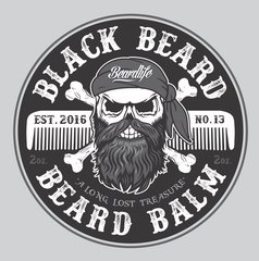 Beardlife Black Beard-Beard Balm