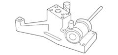Ford Parts 7.3L OEM Turbocharger Pedestal/ EBP Valve (1998.5-1999.5)