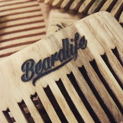 Beardlife Original Hand-Made Wooden Beard Comb