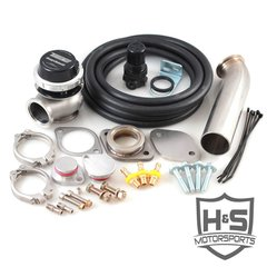 H&S Motorsports 2008-2010 Ford 6.4L Wastegate Kit