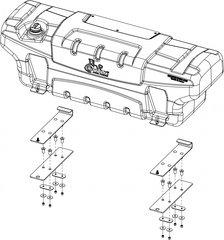 Titan Fuel Tanks Aluminum Body Insulator Kit 2017+ Aluminum Body Beds