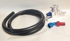 MPD 6.4 Billet Oil Fill/ CCV Kit
