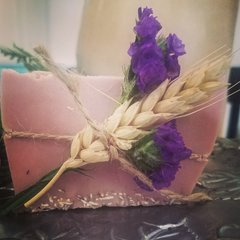 Cranberry Fig Soap with Oatmeal