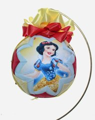 Princess ornaments: Cinderella, Ana & Elsa, Snow white, Belle or McQueen