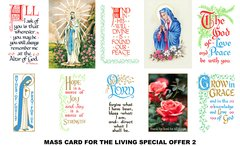 Special Offer Mass Cards 2 (for the Living)