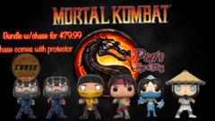 PRE-ORDER Pop! Games: Mortal Kombat w/chase